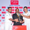 Airtel India – New Zealand Test & T20 Cricket Series Trophy unveiled