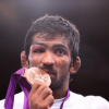 Yogeshwar Dutt pins bronze medal at London Olympics