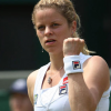 Clijsters on court for the last time