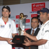 Airtel India – England Test & T20 Cricket Series Trophy unveiled