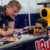 David Coulthard amazed Hyderabad at the Red Bull F1 Showrun