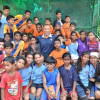 Delhi Dynamos FC celebrates Asian Football Confederation (AFC) Grassroots Day