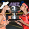 Hat-trick win for Sania-Hingis at Australian Open