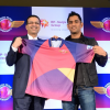 Rising Pune SuperGiants announces their arrival by unveiling the official team jersey for  IPL Season 9