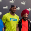 PUMA hosts Asafa Powell along with PT Usha, Milkha Singh and many more Indian athletes