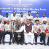 Hon'ble Union Sports Minister meets Hockey Junior World Cup heroes