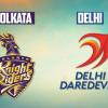 IPL 2017 Live Score: Kolkata Knight Riders vs Delhi Daredevils #IPL
