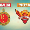 IPL 2017: Royal Challengers Bangalore vs Sunrisers Hyderabad – Live Score #IPL