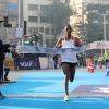Solomon Deksisa and Amane Gobena win at the Tata Mumbai Marathon 2018
