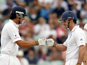 Alistair Cook & Andrew Strauss
