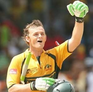 Cricket World Cup - Adam Gilchrist