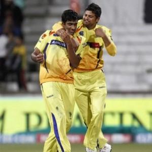 Suresh Raina and R Ashwin