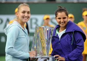 Sania Mirza and Elena Vesnina