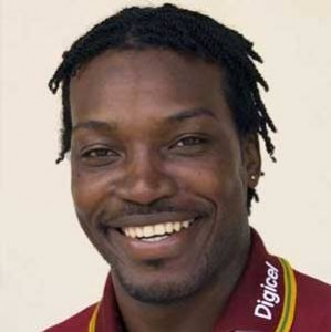 It's Chris Gayle this time