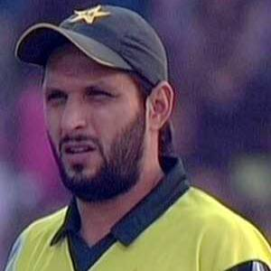 A Relieved Shahid Afridi