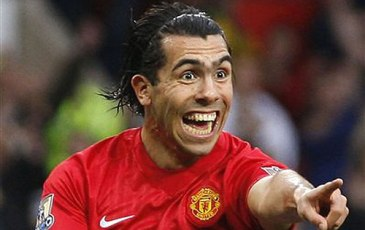 Manchester City reject Corinthian's bid of £35 million for Tevez