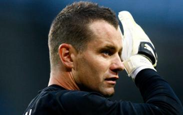 Aston Villa sign Man City Goalkeeper Shay Given