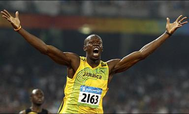 Flu troubled Bolt storms to victory