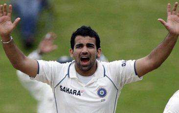 Zaheer Khan - India suffer a major blow