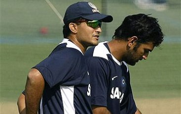 The Cool Captains - Sourav Ganguly and MS Dhoni