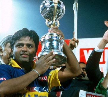 Best Captain: Arjuna Ranatunga, Sri Lanka