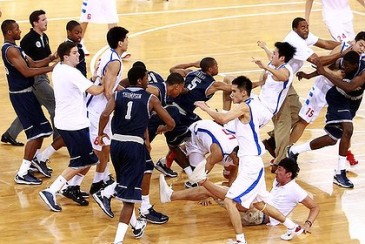 Basketball: Georgetown Hoyas vs Bayi Military Rockets