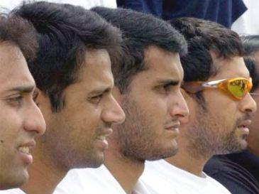 Legends of Indian Cricket - Sachin Tendulkar, Sourav Ganguly, Rahul Dravid and VVS Laxman