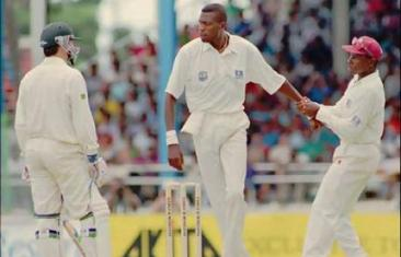 Cricket from 90: Steve Waugh vs Curtly Ambrose