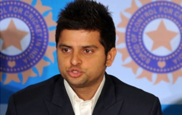 Suresh Raina and Crocodile