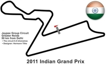 Glitz and glamour of the Buddh International Circuit