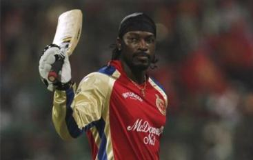 CLT20: Chris Gayle - Royal Challengers Bangalore