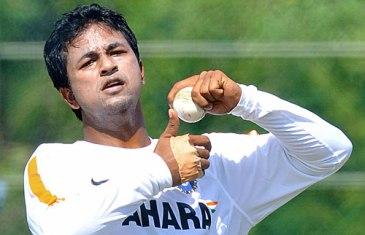 Left-arm spinner Pragyan Ojha