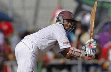 West Indies fight back through Shivnarine Chanderpaul