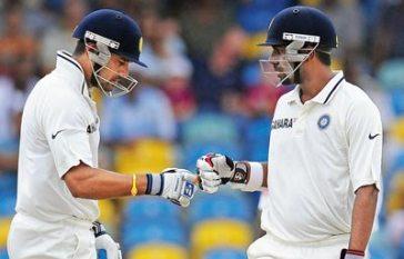 Tamil Nadu openers - Murali Vijay and Abhinav Mukund