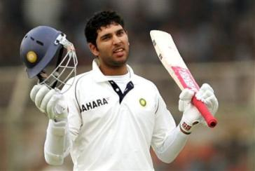 Yuvraj Singh dropped for Final Test against West Indies