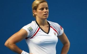 Clijsters wins her first match into the New Year