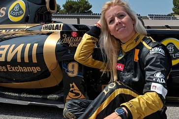 Maria de Villota - Women's Day indeed
