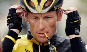 Lance Armstrong on suspension