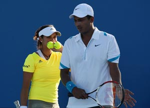 French Open: Sania Mirza and Mahesh Bhupathi