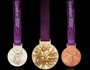 Olympic Medals locked away