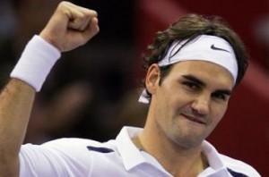 Roger Federer does it