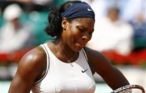 Five point Wimbledon for Serena Williams