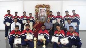 MVJ College of Engineering wins VTU Bangalore Zone and Inter-Zone Kabaddi Tournament 2012-13