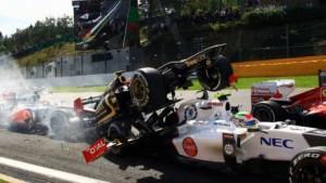 Romain Grosjean handed one-race ban
