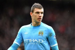 Super sub Edin Dzeko gives Manchester City a big win