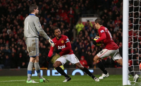 Manchester United pips Newcastle United in a seven goal thriller