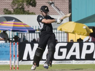 Kane Williamson was the Man of the Match for his unbeaten 145.