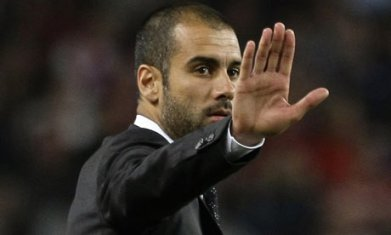 Pep Guardiola headed for Manchester City