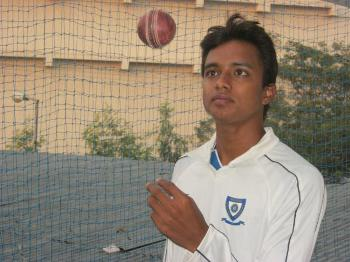 Interview with Chama Vrajendra Milind, India U-19 pace bowler