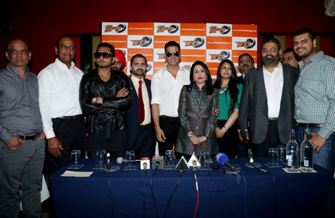 Team owners at the press conference of Wave World Kabaddi League